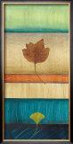Springing Leaves II Prints by Laurie Fields
