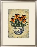 Viola Jackanapes Print by Richard Henson