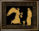 Etruscan Scene II Poster by William Hamilton