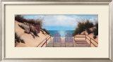 Blue Skies Panel Prints by Diane Romanello