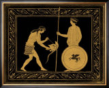 Etruscan Scene IV Print by William Hamilton