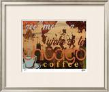 Chicago Coffee Limited Edition Framed Print by M.J. Lew