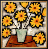 Mellow Yellow I Prints by Irene Paschal