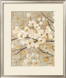 Illuminated Branches Print by Matina Theodosiou