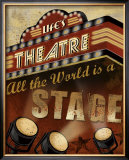 Life&#39;s Theatre Posters by Conrad Knutsen