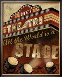 Life's Theatre Posters by Conrad Knutsen