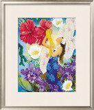 A Lei of Aloha Framed Giclee Print by Warren Rapozo