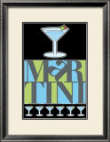 Martini Poster by Russ Lachanse