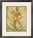 Drummer Framed Giclee Print by  Gill