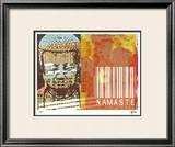 Namaste II Limited Edition Framed Print by M.J. Lew