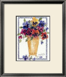 Flower Decor II Print by Alie Kruse-Kolk
