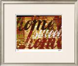 Home Sweet Home IV Limited Edition Framed Print by M.J. Lew