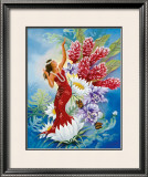 Spirit of Aloha Framed Giclee Print by Warren Rapozo