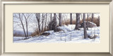 First Snow Prints by Ray Hendershot