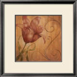 Tiger Lily II Print by  Nan