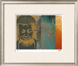 Colors in Meditation I Limited Edition Framed Print by M.J. Lew