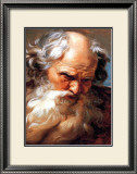 Study for the Head of Neptune Poster by Gabriel Francois Doyen