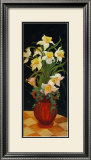 Daffodils at Dark Prints by Leila Platt