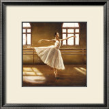 Ballet Dancer Poster by Cristina Mavaracchio