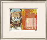 Namaste II Limited Edition Framed Print by M.J. Lew