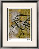 Vintage Asia IV Limited Edition Framed Print by M.J. Lew