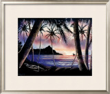 Sunrise over Diamond Head Framed Giclee Print by  Hale Pua Studio