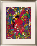 Secret Paradise Framed Giclee Print by Rick Sharp