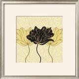 Golden Cluster I Art by Linda Wood