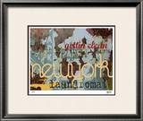 New York Clean Limited Edition Framed Print by M.J. Lew