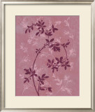 Plum and Rasberry II Prints by Victoria Meyer