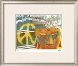 Urban Peace II Limited Edition Framed Print by M.J. Lew
