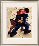 Powersuits and Pinstripes Limited Edition Framed Print by Graham Mckean