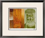 Colors in Meditation II Limited Edition Framed Print by M.J. Lew