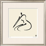 Abstract Female Nude VI Limited Edition Framed Print by Ty Wilson