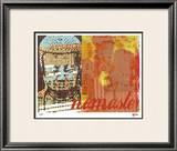 Namaste I Limited Edition Framed Print by M.J. Lew