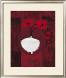 Vase and Flowers Prints by Anna Buschulte