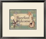 Barefeet Prints by Stephanie Marrott