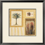 Tropical Tapestry I Art by Ann Walker