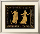 Etruscan Scene I Poster by William Hamilton