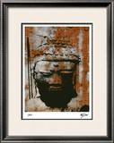 Vintage Asia II Limited Edition Framed Print by M.J. Lew
