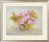 Roses Print by Arthur Easton