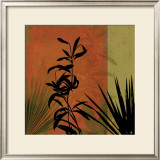Tropical Silhouette I Print by K. Ella
