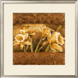 Golden Daffodils I Art by Linda Thompson