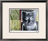 Buddha For Sale I Limited Edition Framed Print by M.J. Lew