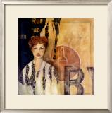 Rue du Vieux Bistro Prints by Pascale Nesson