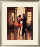 Dance to the Music Poster by Raymond Leech