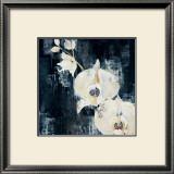 Shadow Orchids I Print by Elizabeth Jardine