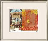 Namaste I Limited Edition Framed Print by M.J. Lew