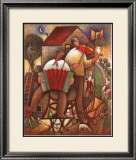 Village Dance Print by Jiri Borsky