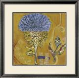 Caribbean Flower II Print by Sarah Van Beckum